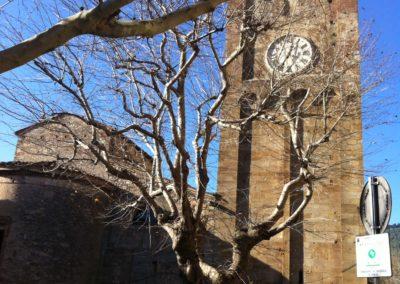 Il campanile della pieve - Calci