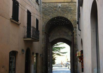 Volterra Porta fiorentina